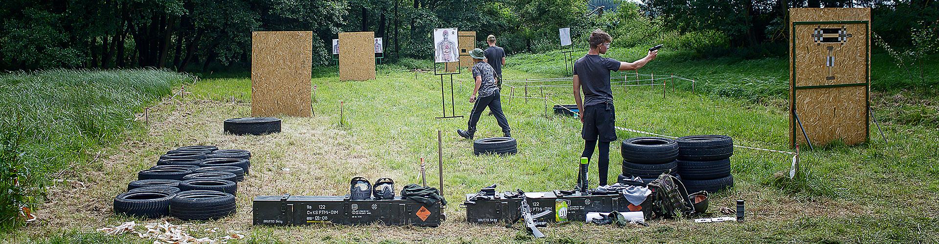 Airsoftová střelnice - Airsoft tábor VOJENSKÁ AKADEMIE