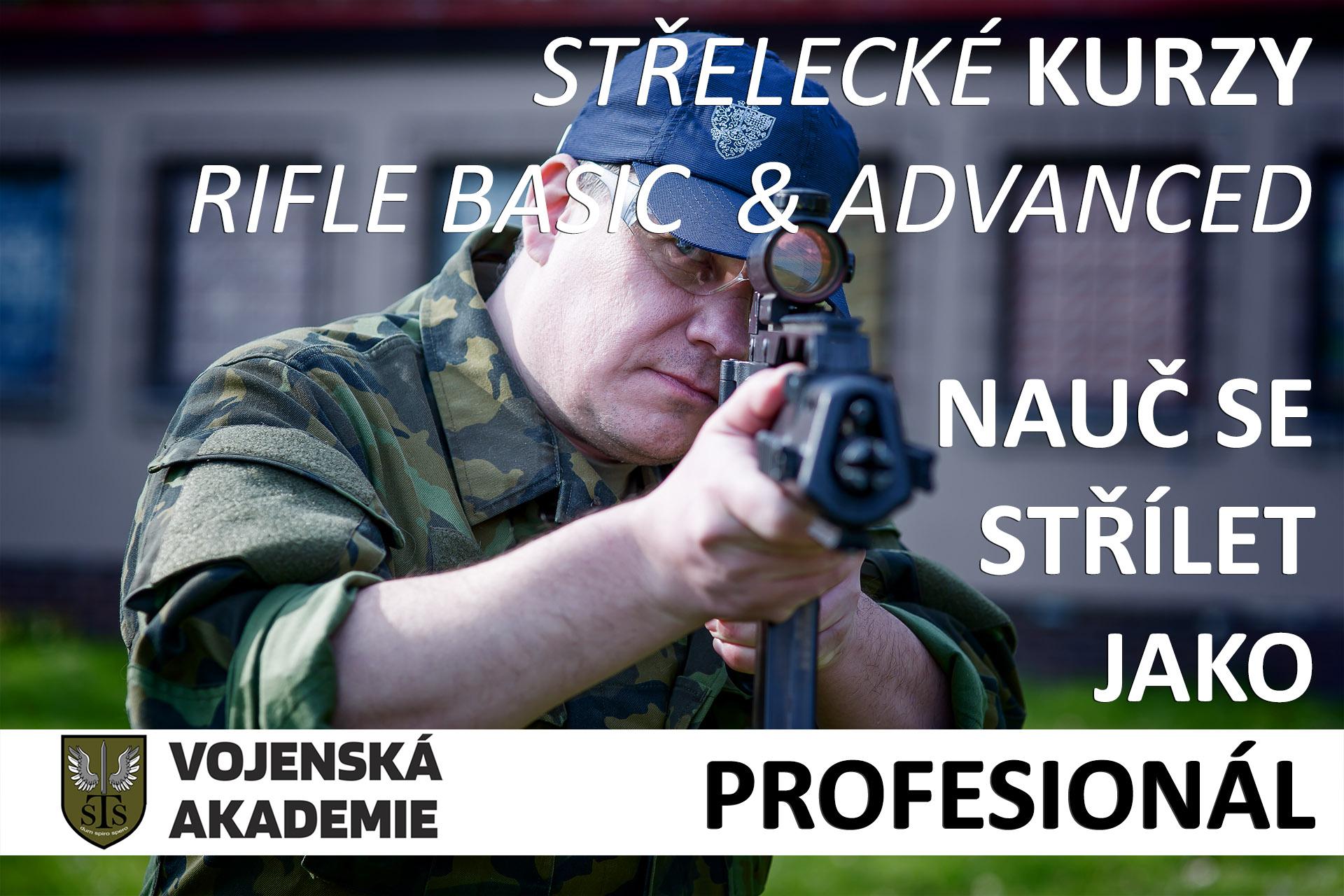 Střelecký výcvik - Basic Airsoft Rifle